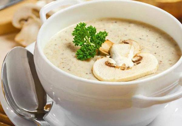 крем суп с грибами