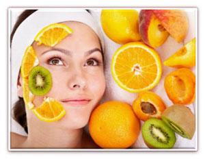натуральная косметика из  овощей и фруктов