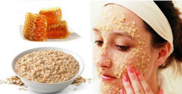 геркулесовая маска для очищения и увлажнения