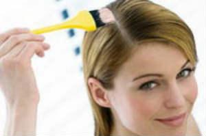 как красить волосы правильно