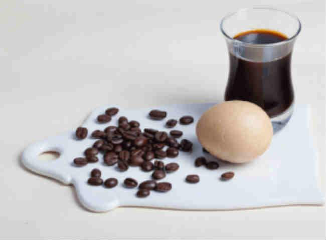 маска для волос кофе яйцо