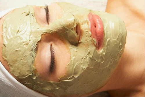 маска противовоспалительная из глины для лица