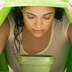 паровая ванна очищение кожи лица