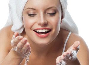 умывание - обязательная процедура очищения кожи