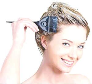 окрашивание волос самостоятельно
