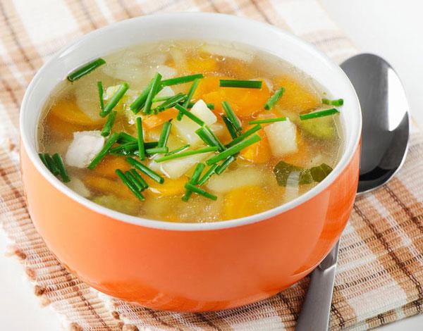 на первое можно съесть овощной суп