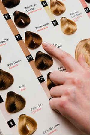 Выбор краски для окрасшивания волос