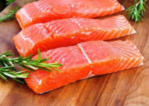 лосось - полезный продукт питания