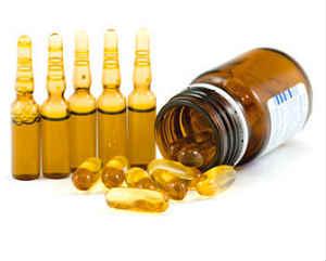 ампульные витамины для  изготовления масок для лица