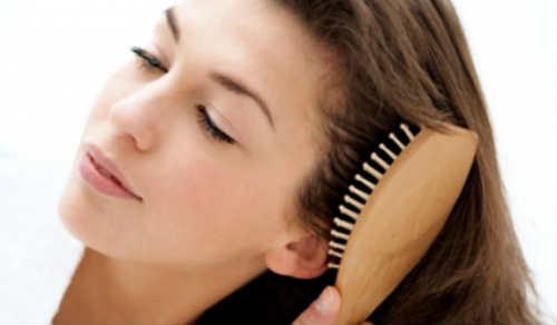 уход за волосами расчесывание