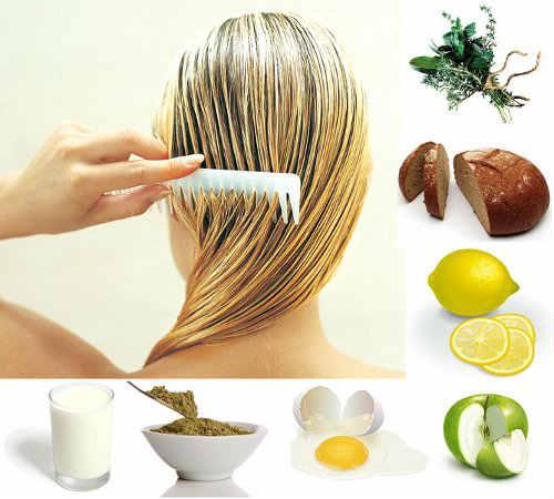 Народные маски для волос при жирных волосах