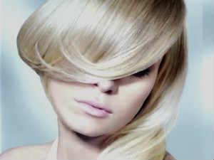 осветление волос уход